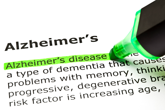 Alzheimer's Disease LIsted in the Top 5 Health Concerns for Seniors in The U.S.  Part II