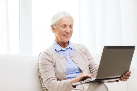 New Study Indicates Technology  Helps Seniors with Depression