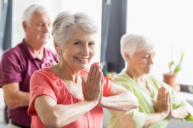 8 Ways Yoga May Help Caregivers and People with Alzheimer's Disease